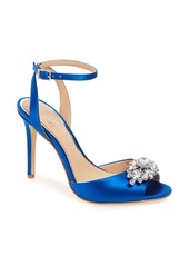 Badgley Mischka Hayden Embellished Ankle Strap Sandal (Women)