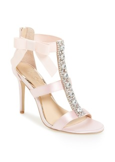 Badgley Mischka Henderson Embellished Bow Sandal (Women)