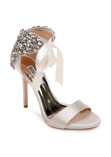 Badgley Mischka Hilda Crystal Embellished Sandal (Women)