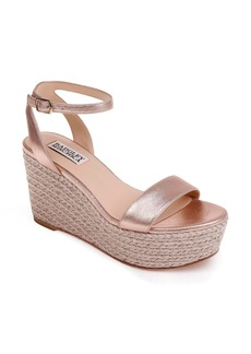 Badgley Mischka Holmes Espadrille Wedge (Women)