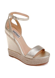 Badgley Mischka Honest Espadrille Wedge Sandal