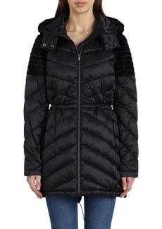 Badgley Mischka Hooded Puffer Jacket