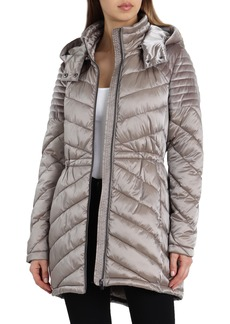 Badgley Mischka Hooded Puffer Jacket
