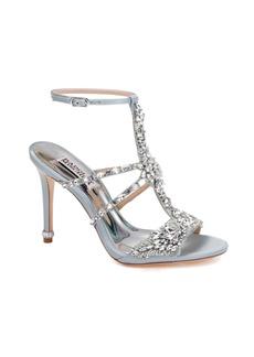 Badgley Mischka Hughes Crystal Embellished Sandal (Women)