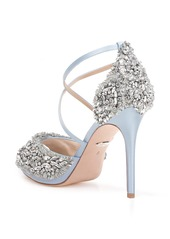 Badgley Mischka Hyper Crystal Embellished Sandal (Women)