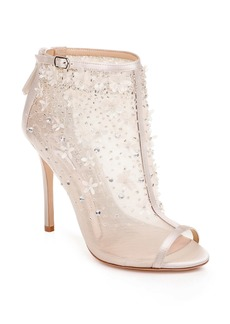 Badgley Mischka Isadora Open Toe Bootie (Women)