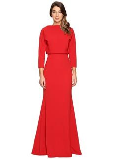 Badgley Mischka It Dress Blouson Gown