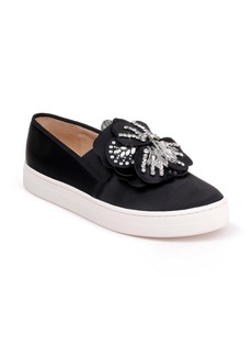 Badgley Mischka Izzy Embellished Slip-On Sneaker (Women)
