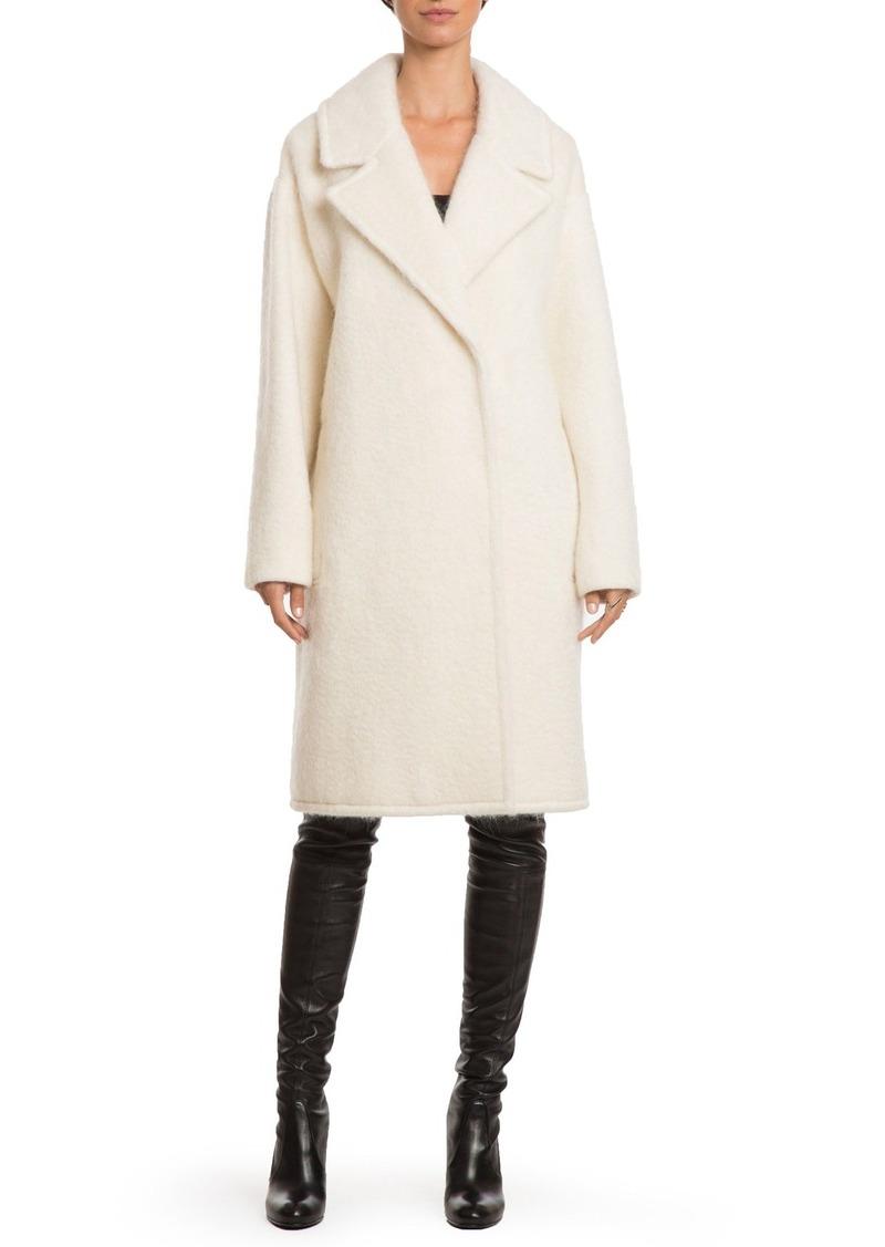 Badgley Mischka 'Jenna' Snap Back Cocoon Coat