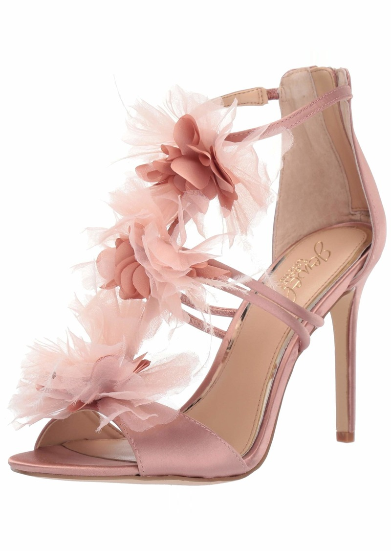 Badgley Mischka Jewel Women's Dustine Heeled Sandal   M US