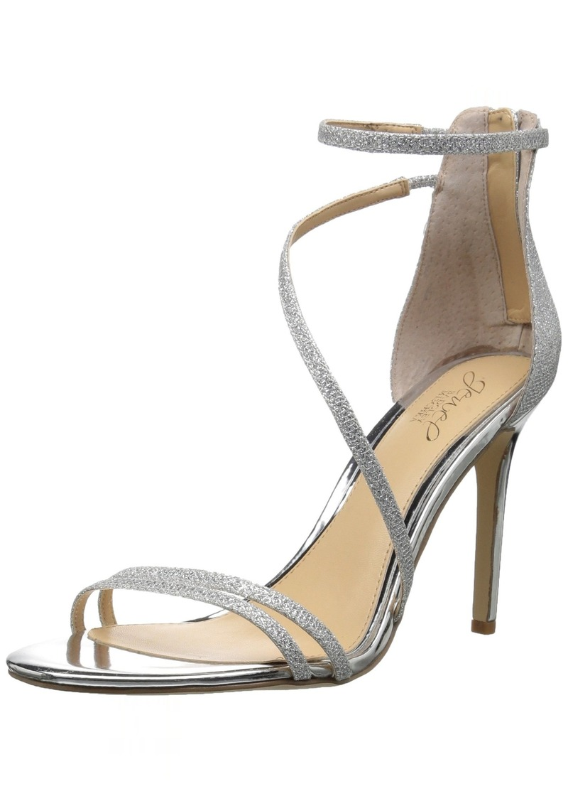 Badgley Mischka Jewel Women's GAIL Heeled Sandal  7 Medium US