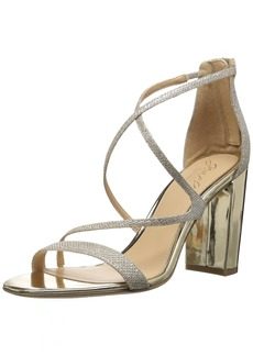 Badgley Mischka Jewel Women's Gale Heeled Sandal  9 Medium US