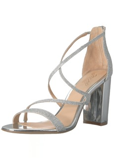 Badgley Mischka Jewel Women's Gale Heeled Sandal   Medium US