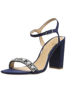 Badgley Mischka Jewel Women's Hendricks Heeled Sandal  9.5 Medium US