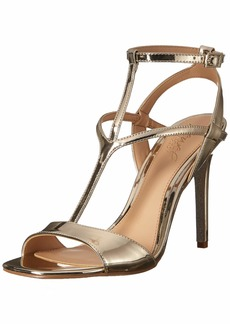 Jewel Badgley Mischka Women's KIKI Sandal gold/metallic  M US