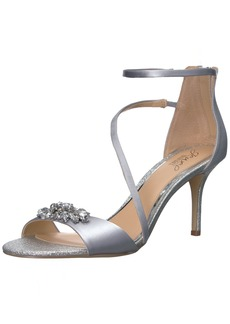 Badgley Mischka Jewel Women's Leighton Heeled Sandal   Medium US