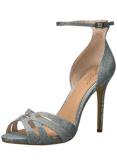 Jewel Badgley Mischka Women's Loyal Sandal   Medium US
