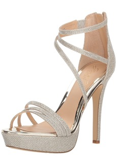Badgley Mischka Jewel Women's Maeva Heeled Sandal  8 M US