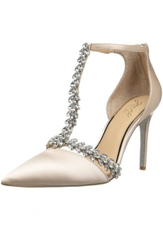 Badgley Mischka Jewel Women's Meena Pump  8 M US