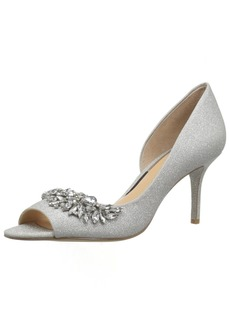 Badgley Mischka Jewel Women's Melvina Pump   M US