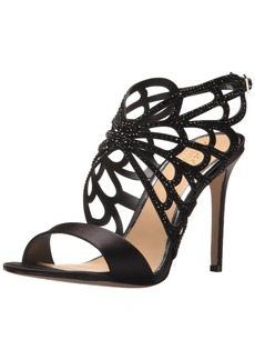 Badgley Mischka Jewel Women's Taresa Heeled Sandal  8 Medium US