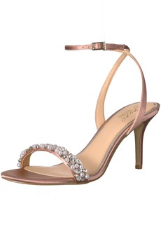 Badgley Mischka Jewel Women's Theodora Heeled Sandal  6 Medium US