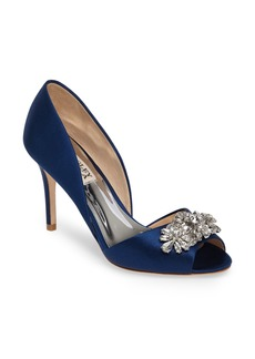 Badgley Mischka Kaden Embellished d'Orsay Pump (Women)