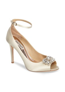 Badgley Mischka Kali Ankle Strap Pump (Women)