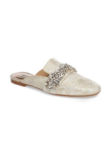 Badgley Mischka Kana Embellished Loafer Mule (Women)