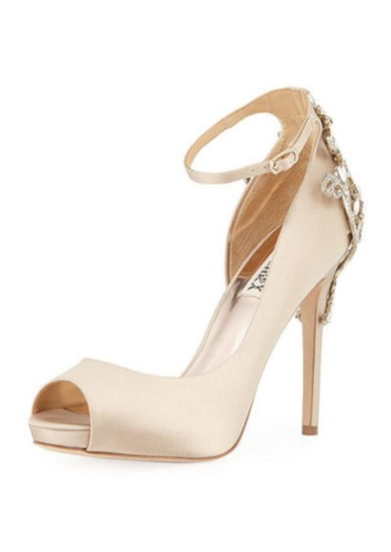 98539990ac6b6 Badgley Mischka Badgley Mischka Karson Ankle-Strap Peep-Toe Pump | Shoes