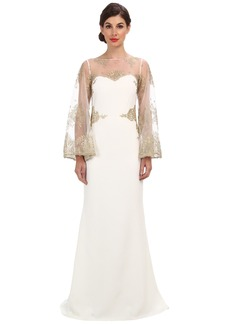 Badgley Mischka Lace Cape