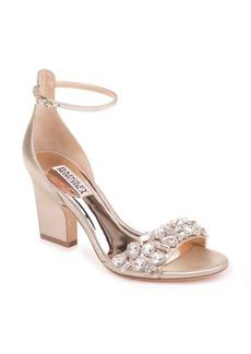 Badgley Mischka Laraine Embellished Ankle Strap Sandal (Women)