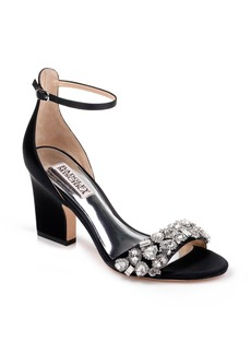 Badgley Mischka Laraine Embellished Ankle Strap Sandal (Women)