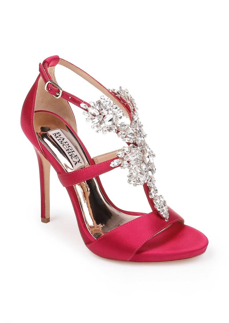 Badgley Mischka Leah Embellished Sandal (Women)
