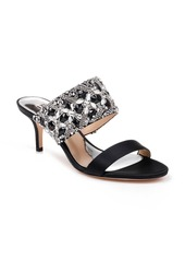 Badgley Mischka Linda Embellished Slide Sandal (Women)