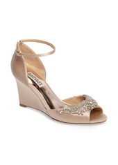 Badgley Mischka Malorie Embellished Sandal (Women)