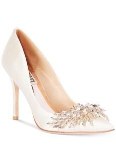 Badgley Mischka Marcela Embellished Evening Pumps Women's Shoes