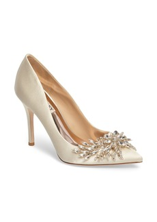 Badgley Mischka Marcela Pointy Toe Pump (Women)