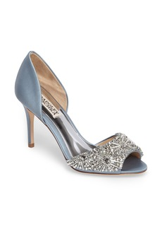 Badgley Mischka Maria Embellished d'Orsay Pump (Women)