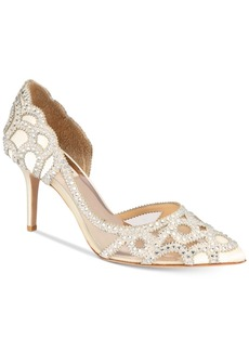 Badgley Mischka Marissa Embellished Evening Pumps, Created For Macy's Women's Shoes