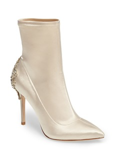 Badgley Mischka Meg Stretch Bootie (Women)