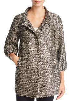 Badgley Mischka Metallic-Tweed Jacket