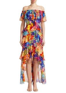 Monet Ruffle Gown