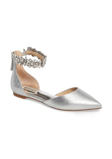 Badgley Mischka Morgen Ankle Strap Flat (Women)