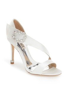 Badgley Mischka 'Night' Crystal Embellished Evening Sandal (Women)