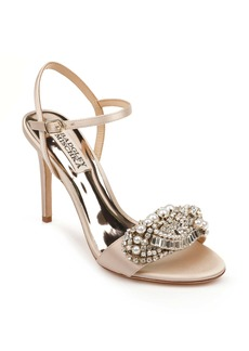 Badgley Mischka Odelia Crystal Embellished Sandal (Women)