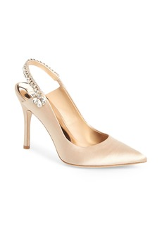 Badgley Mischka Paxton Pointy Toe Slingback Pump (Women)