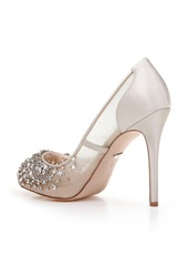 Badgley Mischka Pepper Peep Toe Pump (Women)