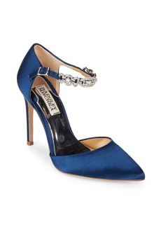 Badgley Mischka Pia II Satin Evening Pumps