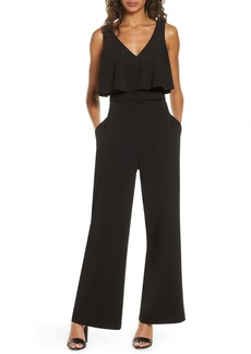 Badgley Mischka Popover Jumpsuit